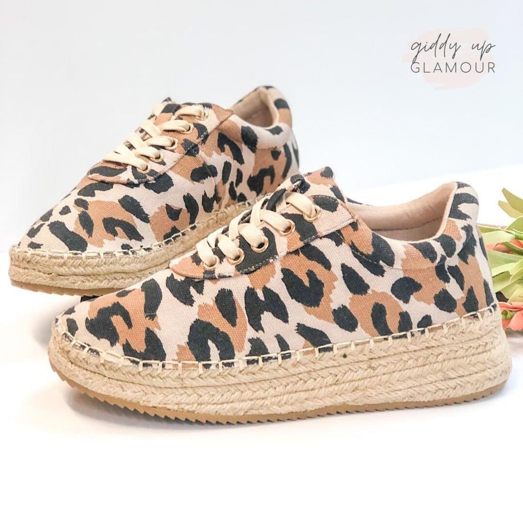 Ready to Roam Lace Up Espadrille