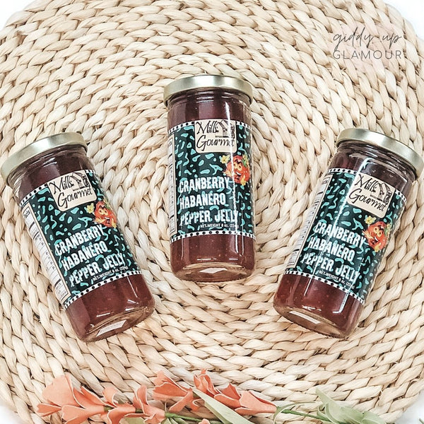 Mills Gourmet | Cranberry Habanero Pepper Jelly