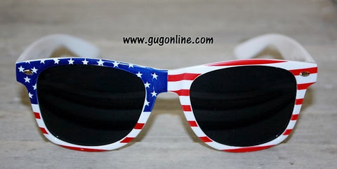 USA American Flag Ray Ban Style Sunglasses