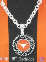 Colliegiate Jewelry - UT Longhorn Necklace with Brighton Look