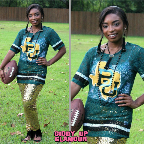 Game Day Collection: Lace to the Finish Baylor Lace Jersey