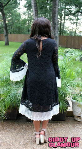 For The Occassion Lace Dress in Black