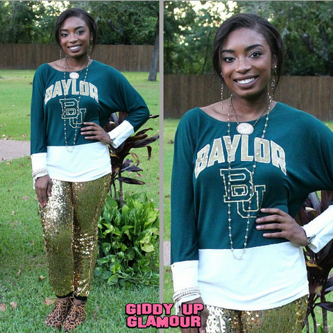 Game Day Collection: Baylor Colorblock Tunic