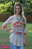 Adults: Gobble Til You Wobble Thanksgiving Top