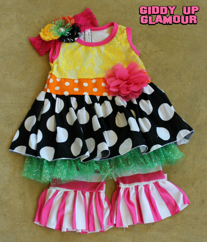 Children's Apparel: The Darci Dress - 3 Piece Outfit