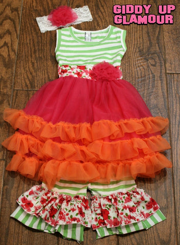 Children's Apparel: The Stella Dress - 3 Piece Outfit
