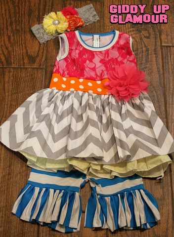 Children's Apparel: The Kori Dress - 3 Piece Outfit