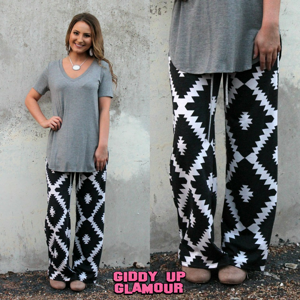 Aztec Print Clothes | Aztec Print Pants | Indian Beaded Jewelry | Indian Inspired Fashions
