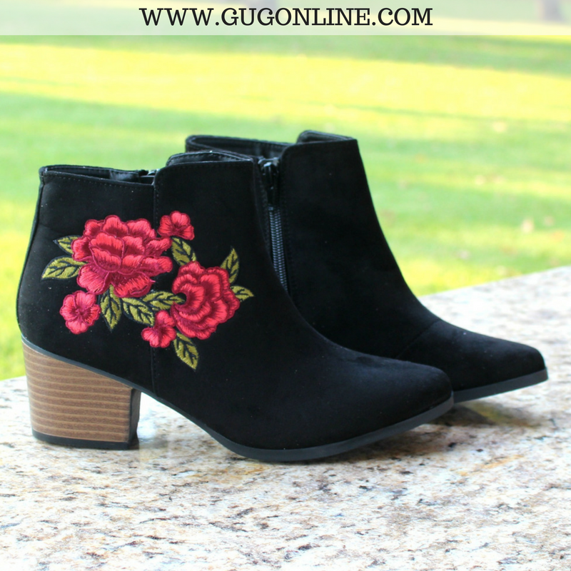 Short Ankle Booties Boots Suede
