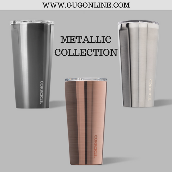 Metallic Collection Corkcicle Tumbler - 16 oz