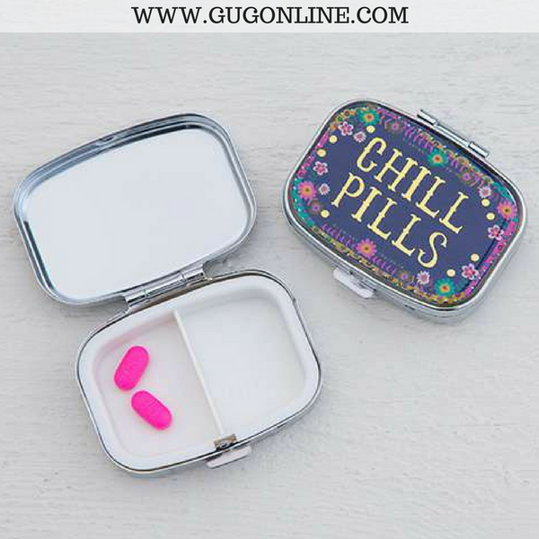 Chill Pills Pill Box Giddy Up Glamour Boutique