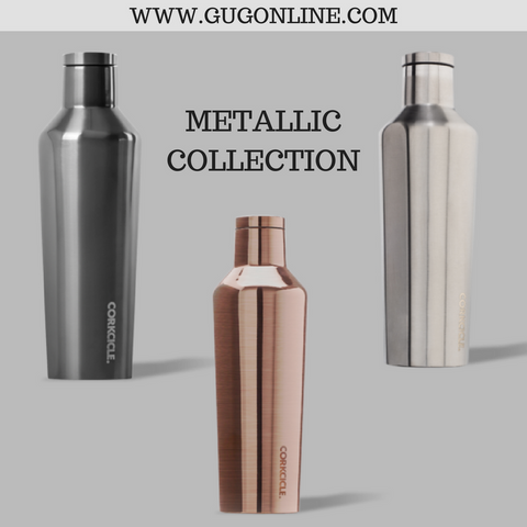 Metallic Collection Corkcicle Canteen - 25 oz