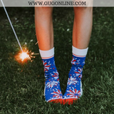 Funny Socks | Fun Socks Fireworks 4th Of July