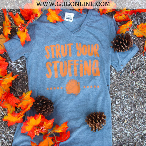 Strut Your Stuffing Thanksgiving Short Sleeve Tee Shirt