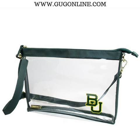 Baylor University Small Crossbody Clear Stadium Bag