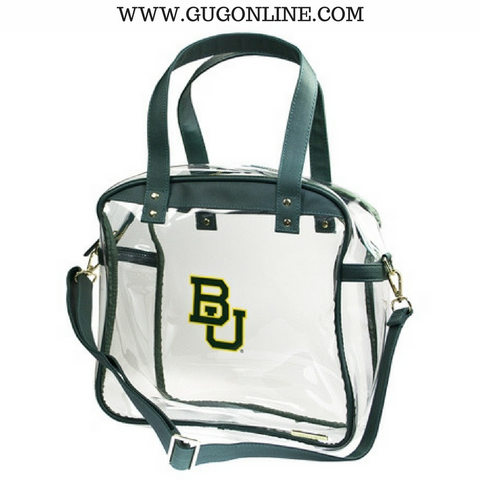 Baylor University Large Carryall Tote Clear Stadium Bag