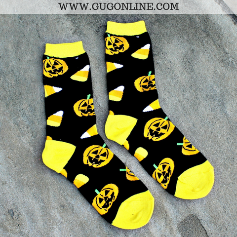 Trick or Treat Halloween Crew Socks