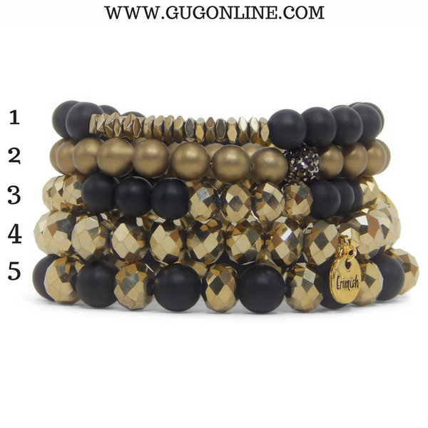 Stackable Crystal Bracelets - Boogie Knights