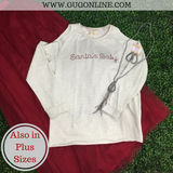 Santa's Baby Cold Shoulder Sweatshirt