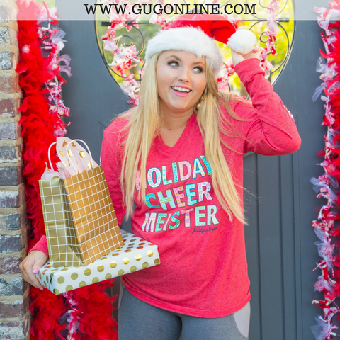 Holiday Cheermeister Long Sleeve Christmas Tee