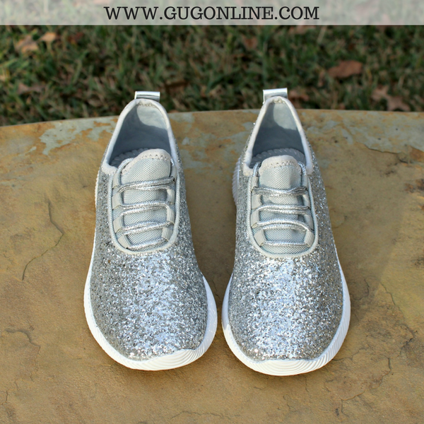 Stylish Womens Flat Shoes Glitter