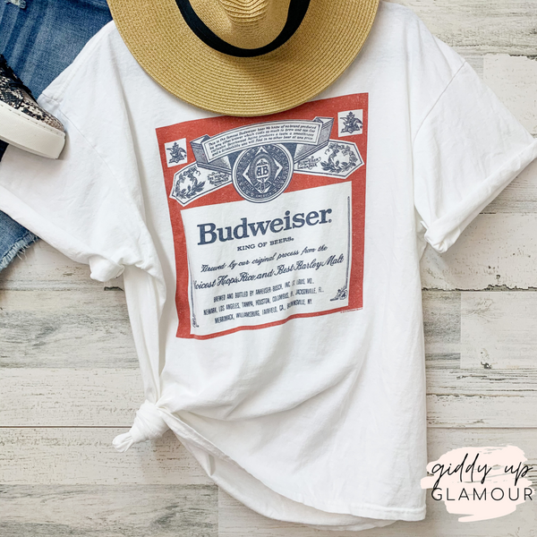 BUDWEISER | Budweiser Beer Graphic Tees in Variety of Styles