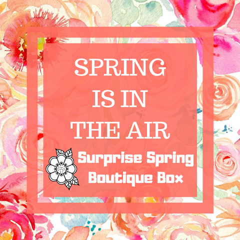 Spring Is In The Air Surprise Spring Boutique Box