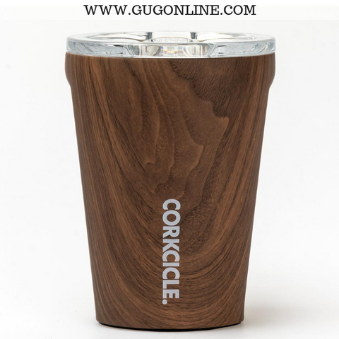 Walnut Wood Corkcicle Tumbler Cup - 12 oz