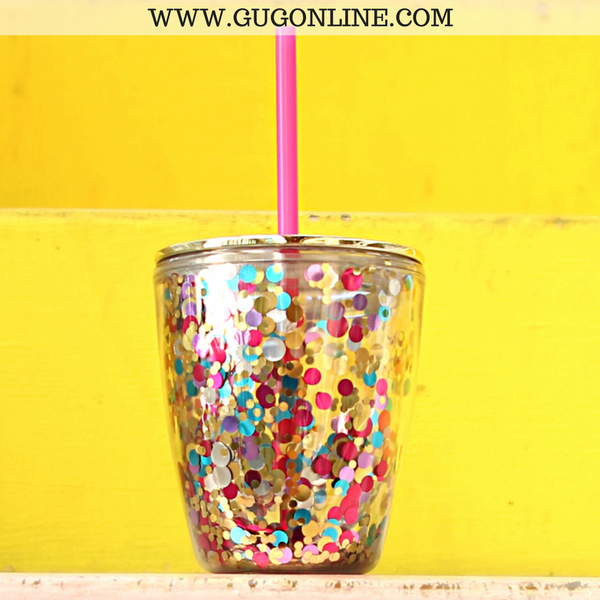 Confetti Party Tumbler - 12 oz