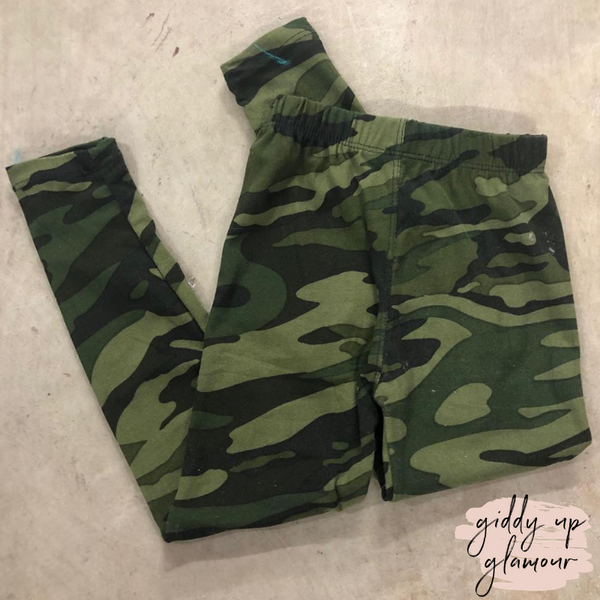 Clearance - Super Soft Kids Camouflage Leggings
