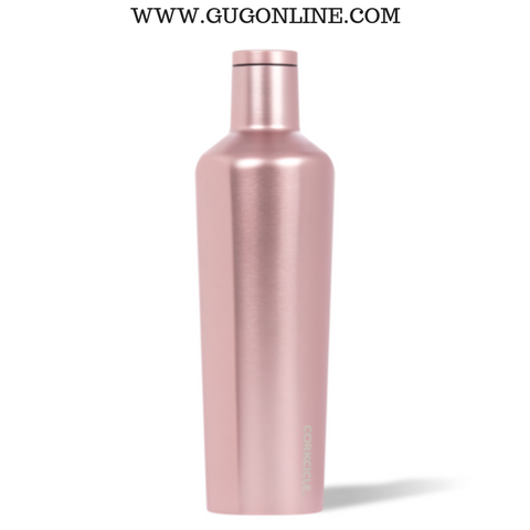 Rose Metallic Corkcicle Canteen Cup - 25 oz