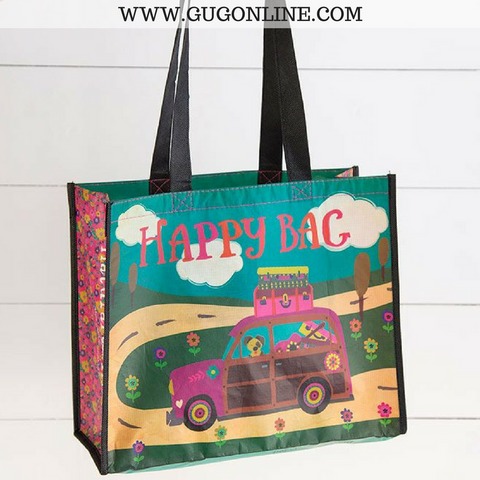 Woodies Happy Bag Large Recycled Gift Bag