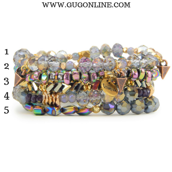 Erimish | Hurricane Stack | Stackable Crystal Bracelets