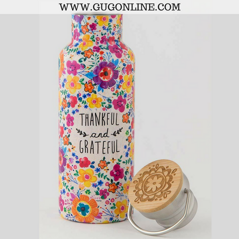 Thankful & Grateful Traveler Bottle