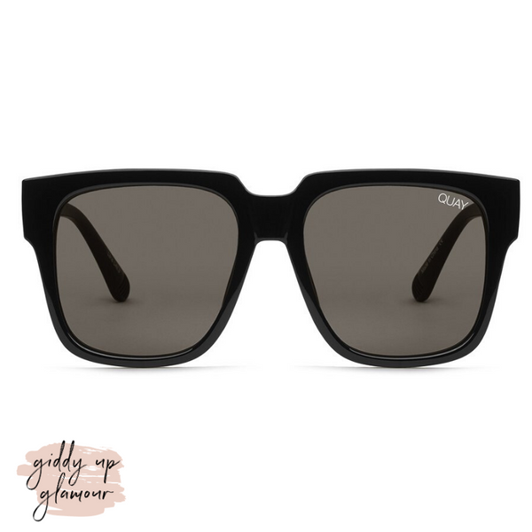 Quay | On the Prowl Sunglasses in Black