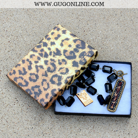 Large Jewelry Gift Box in Leopard