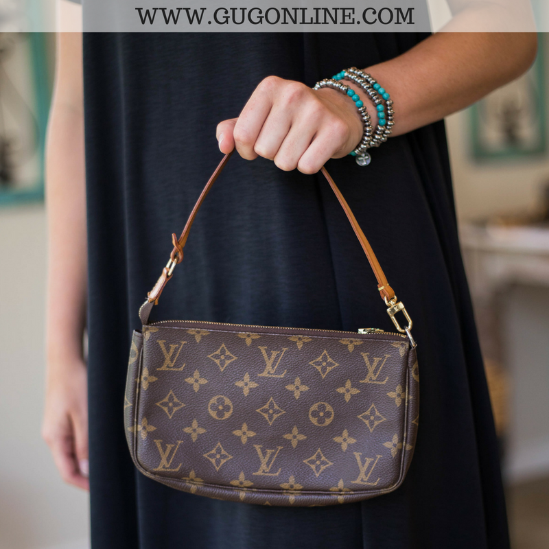 Authentic Used Louis Vuitton Pochette Arm Bag Giddy Up Glamour - How to make an invoice in word louis vuitton online store
