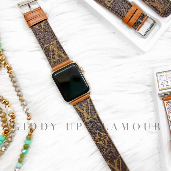 Louis Vuitton LV Watchbands Repurposed Upcycled Reconditioned
