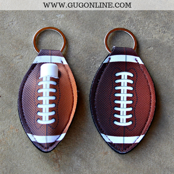 Sports Lip Balm Holder in Football