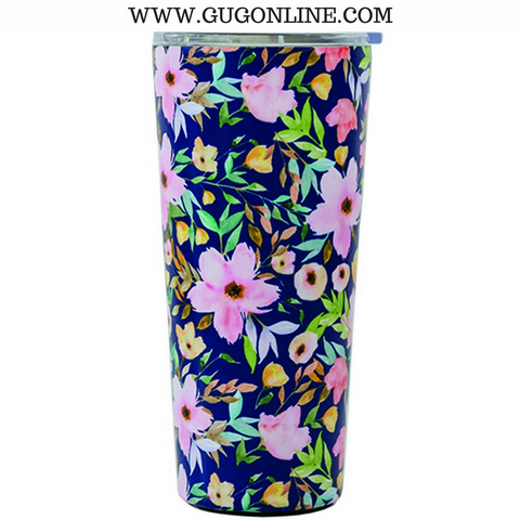 Hampstead Floral Large Stainless Tumbler