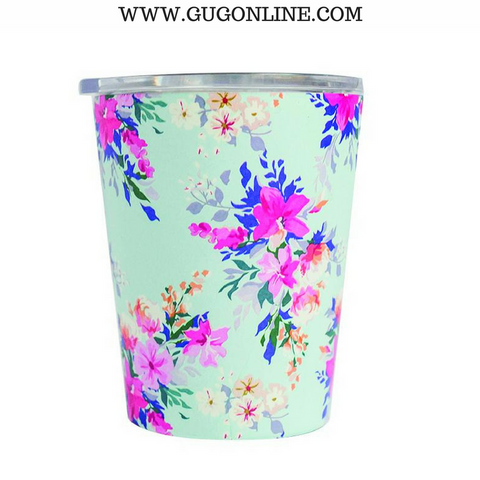 Lexington Floral Stainless Coffee Tumbler