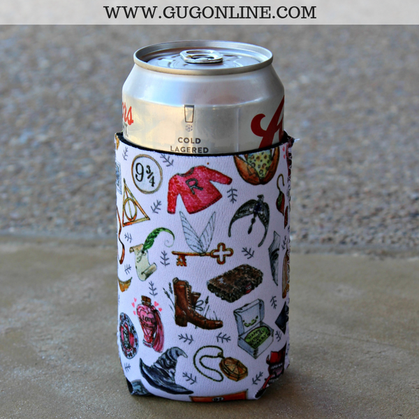 Harry Potter Themed Can Koozie