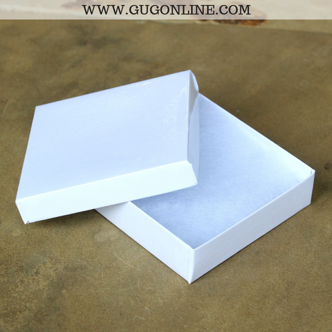 Jewelry Gift Box in White