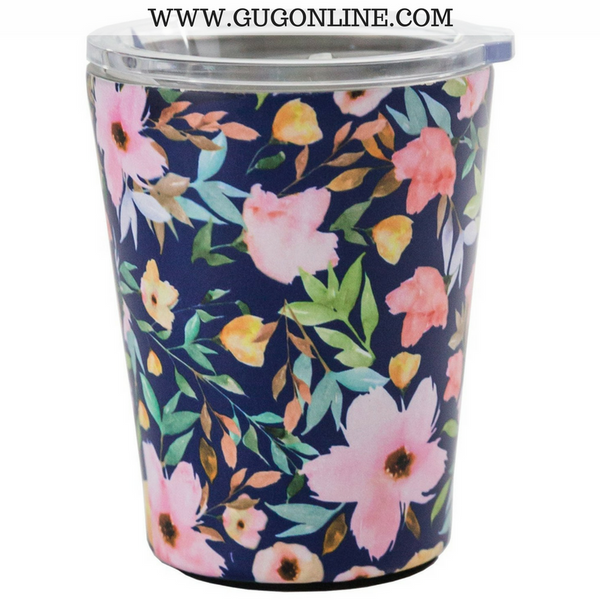 Hampstead Floral Stainless Coffee Tumbler
