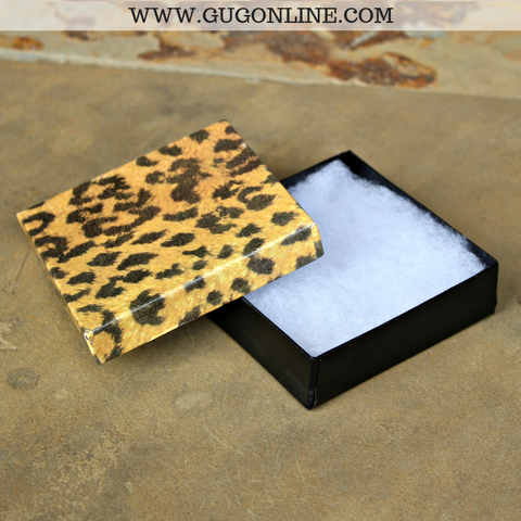 Jewelry Gift Box in Leopard