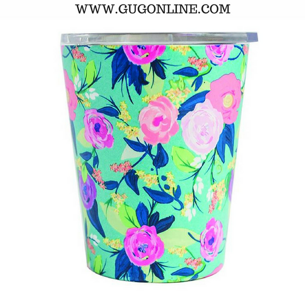 Nantucket Floral Stainless Coffee Tumbler