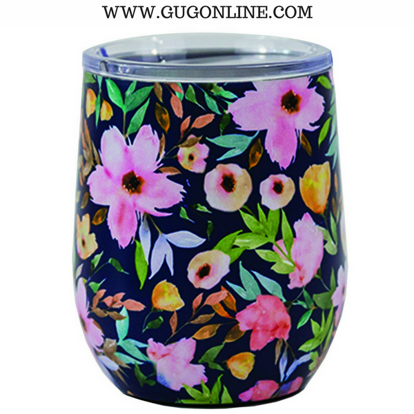 Hampstead Floral Stainless Drink Tumbler