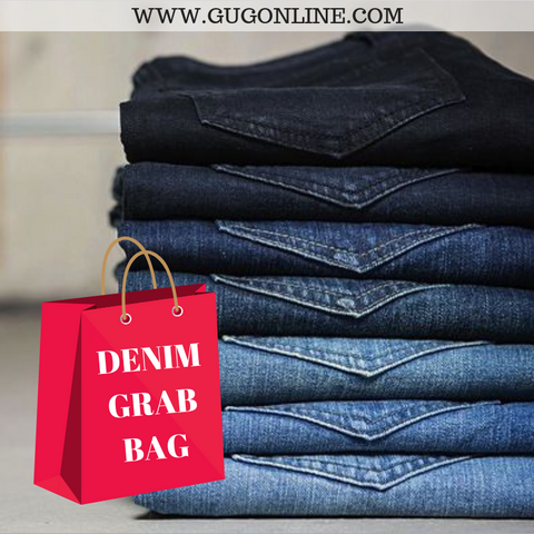 Giddy Up Glamour Jean Grab Bag - Size 4  AS LOW AS $10/PR.
