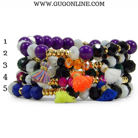 Erimish Stackable Crystal Bracelets - Circus