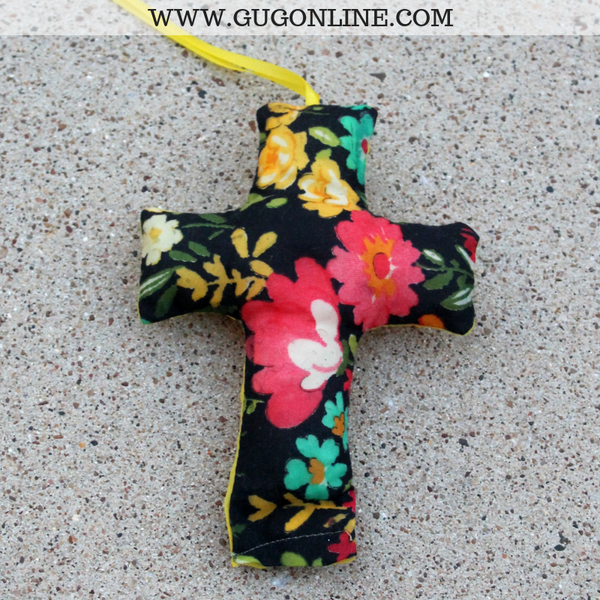 Floral Print Gifts, Floral Printed Products, Cross Car Sachet Bags